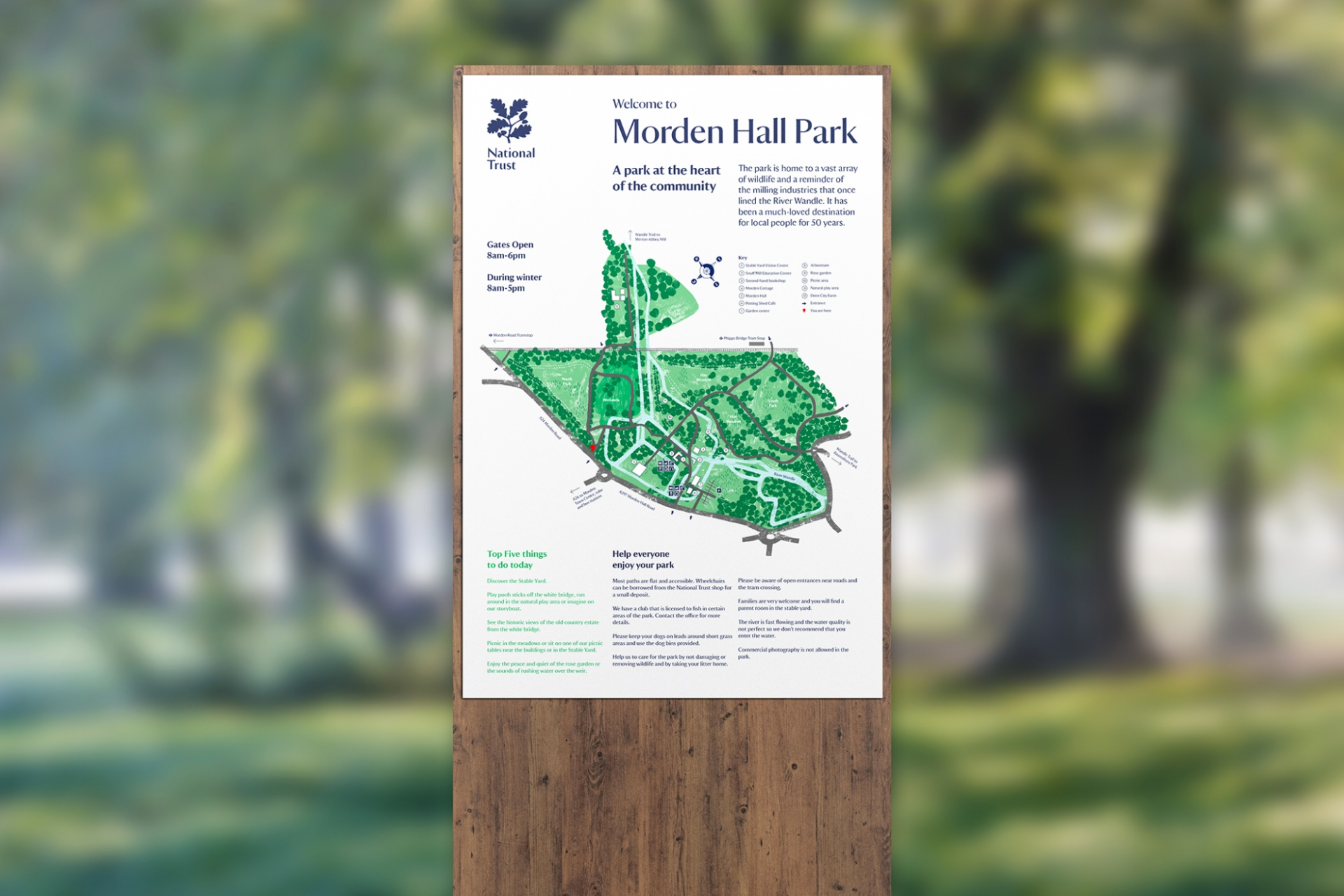 Patrick Fry National Trust's Morden Hall Park