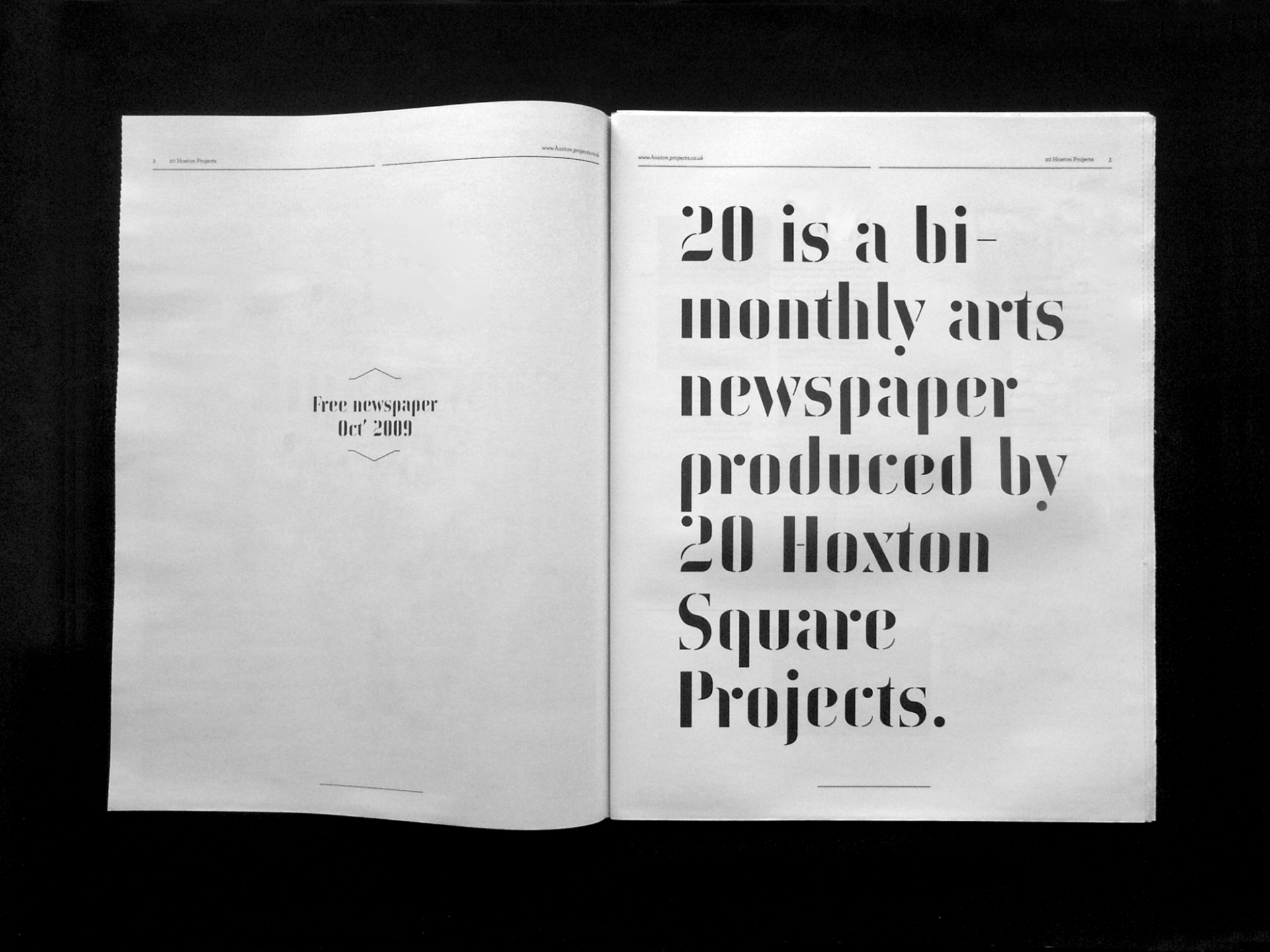 Patrick Fry Studio 20 Newspaper