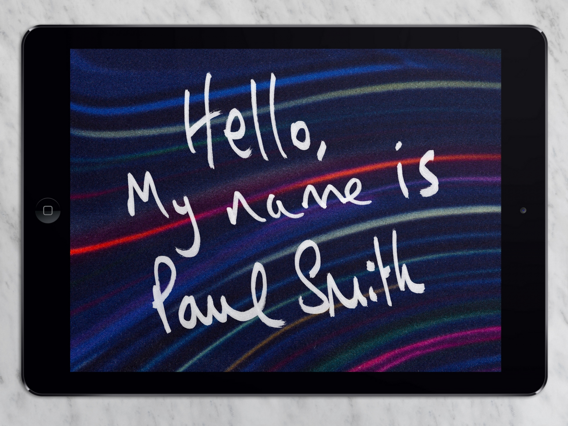 Patrick Fry Paul Smith iPad App