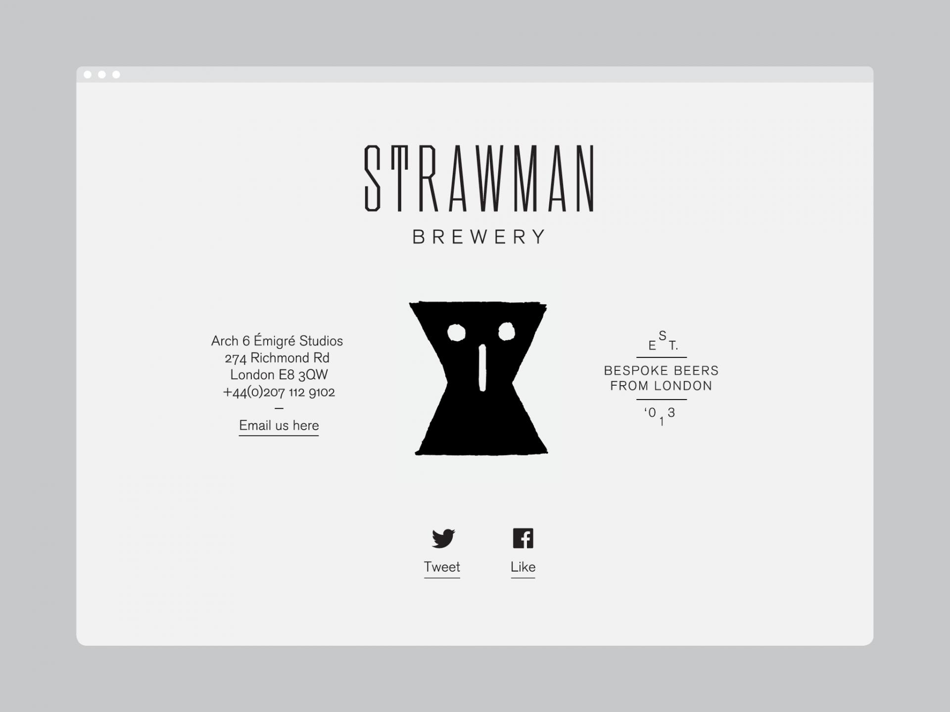 Patrick Fry Studio Strawman Brewery