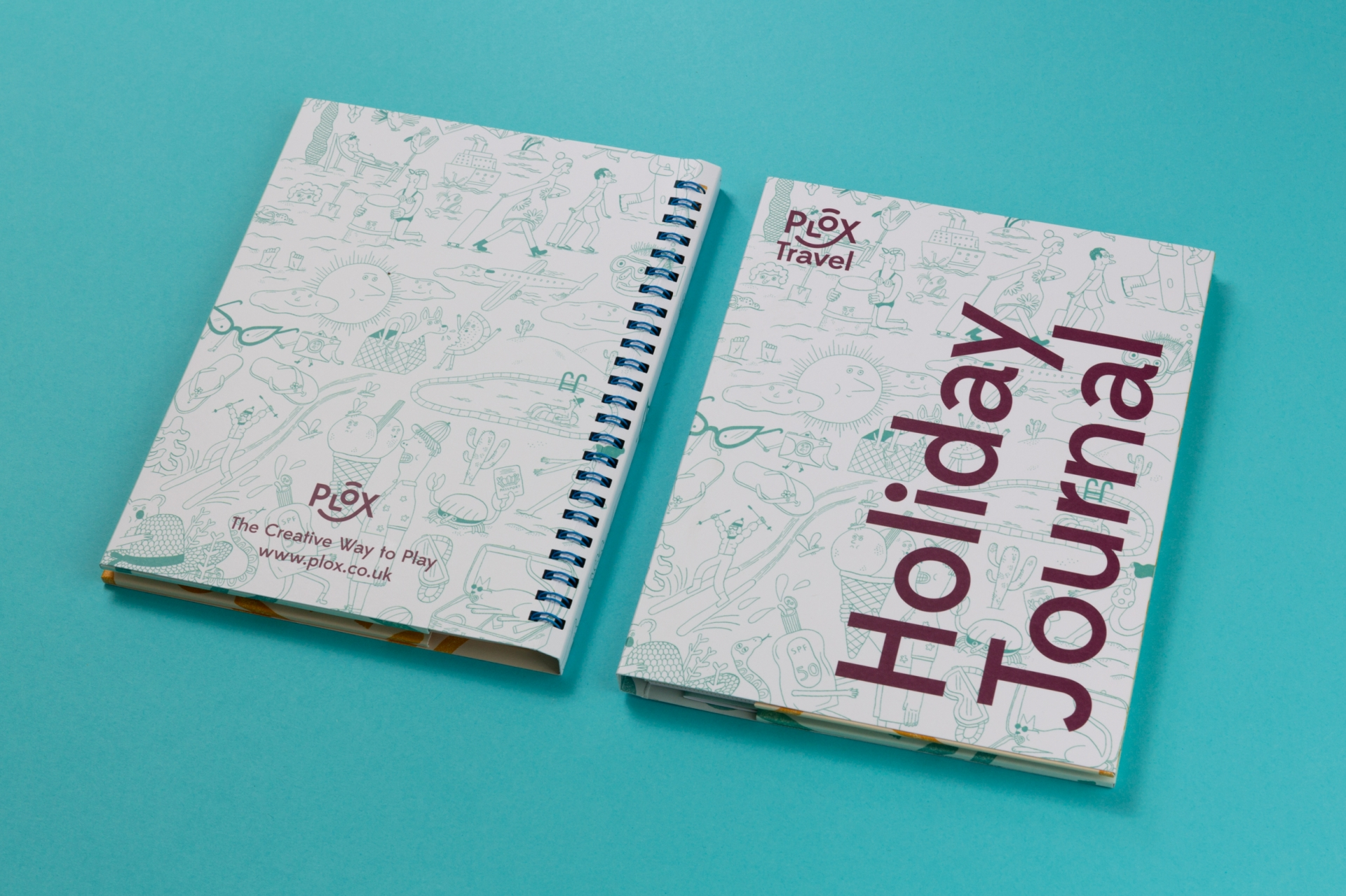 Patrick Fry Studio Plox Travel Journal